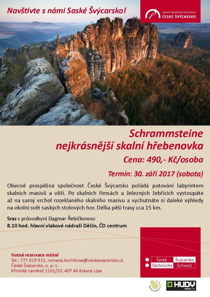 Schrammsteine – nejkrásnější skalní hřebenovka 1