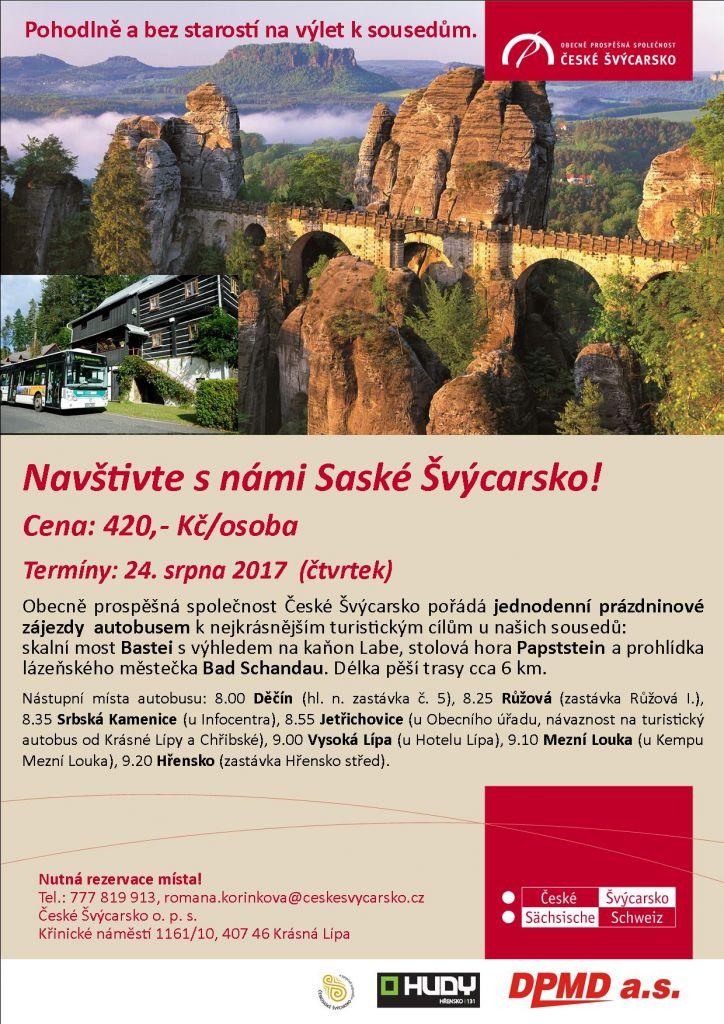 O prázdninách do Saského Švýcarska 1